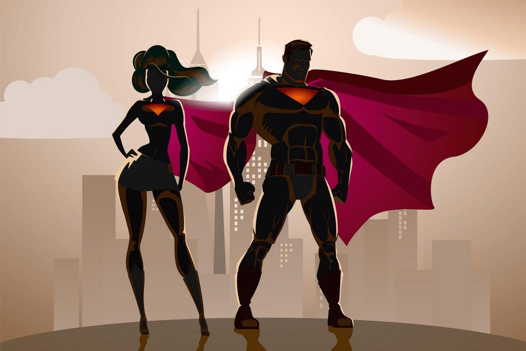 MA VIE DE SUPER HEROS